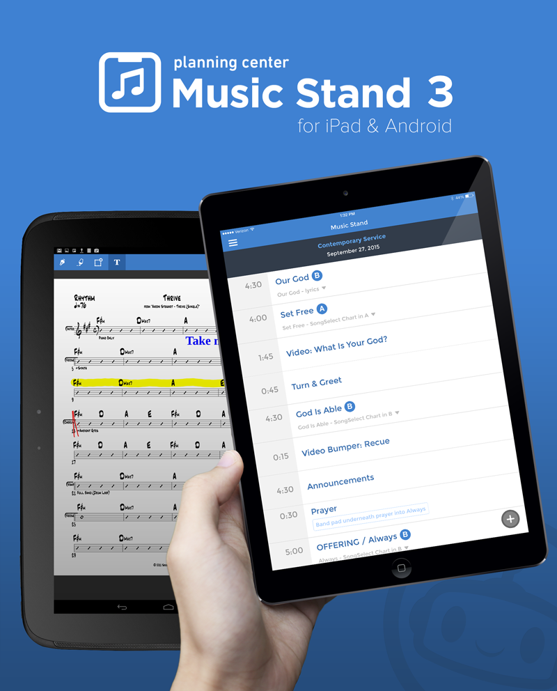 Music Stand 3