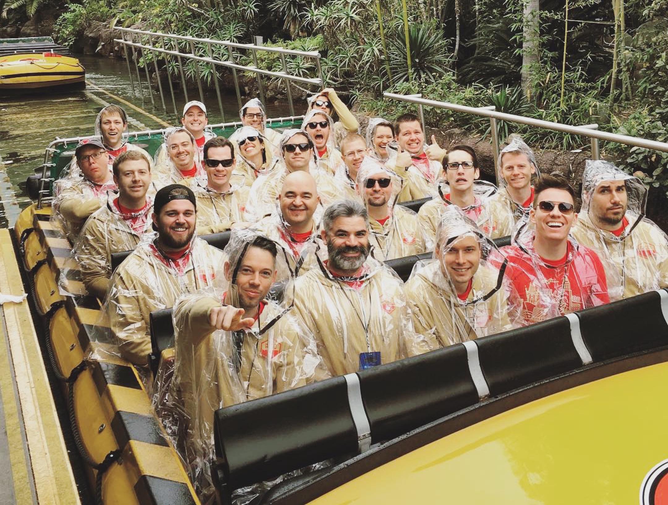Jurassic Park Log Ride