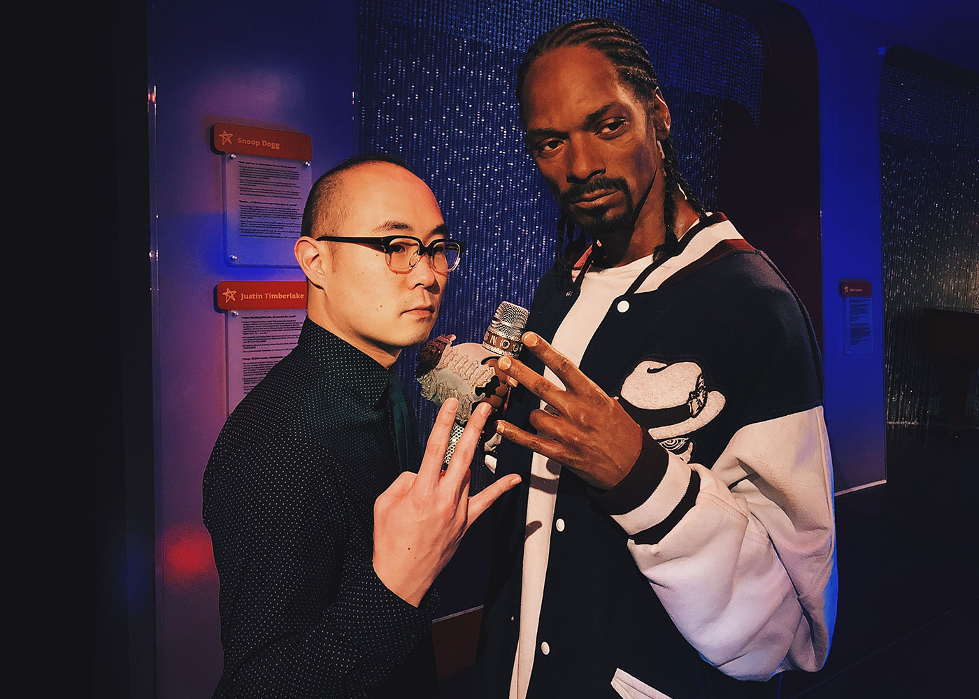 Jonathan and Snoop Dogg