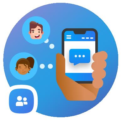Messaging in People