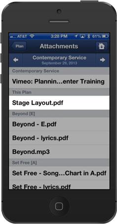 Stage Layout PDF