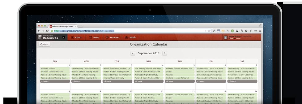 Calendar Preview